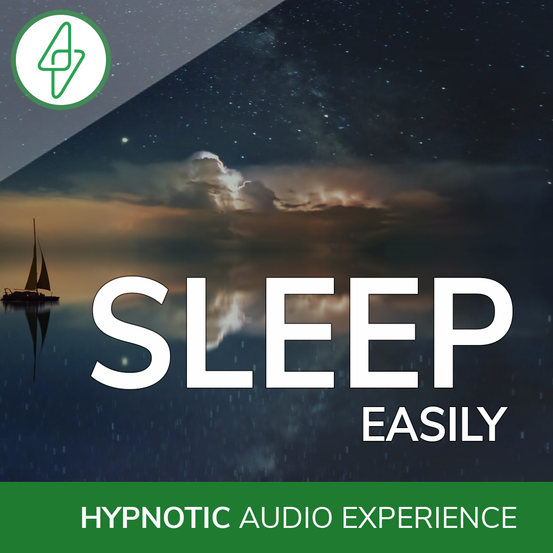 sleep hypnosis audio cover
